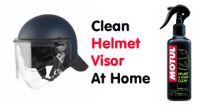 How To Remove Scratches From Helmet Glass