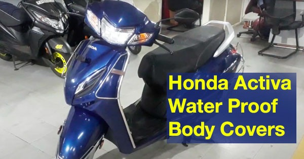 Honda Activa Body Cover Water Proof